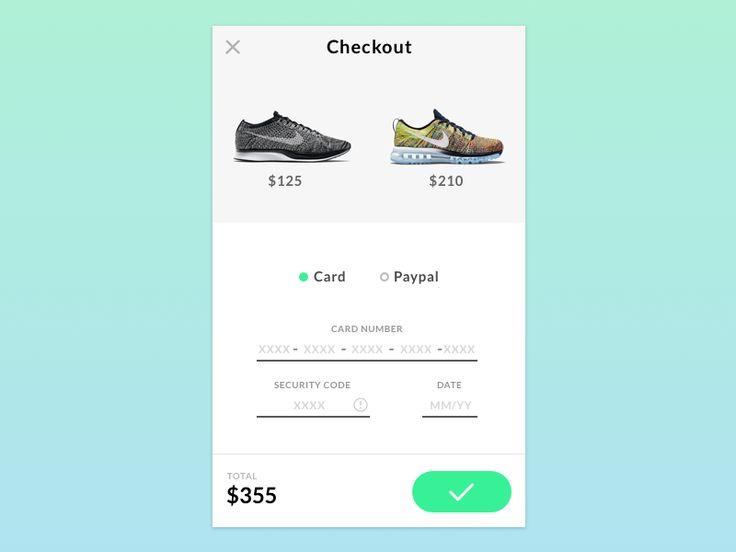Checkout UI