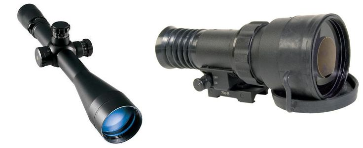 Image of PS22-HPT Day/Night Tactical Kit w/ Leupold Mark 4 CQ/T