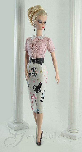 Vintage Cats Barbie
