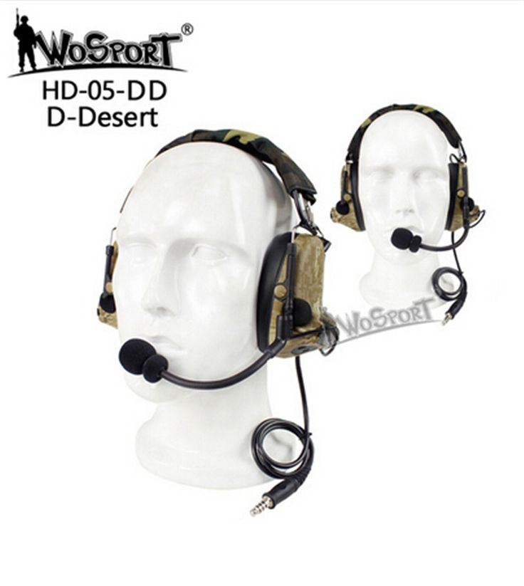 best price wosport tactical headset noise reduction canceling electronic sound pickup comtac ii for #pickup #accessories