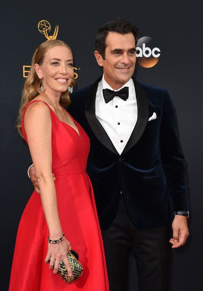 Ty and Holly Burrell - The Hottest Couples at the 2016 Emmy Awards - Photos