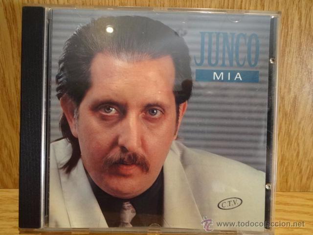 JUNCO. MÍA. CD / HORUS - 1993. 10 TEMAS - CALIDAD LUJO.