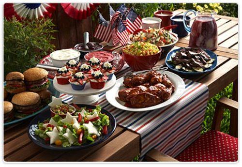 fourth of july backyard decorations