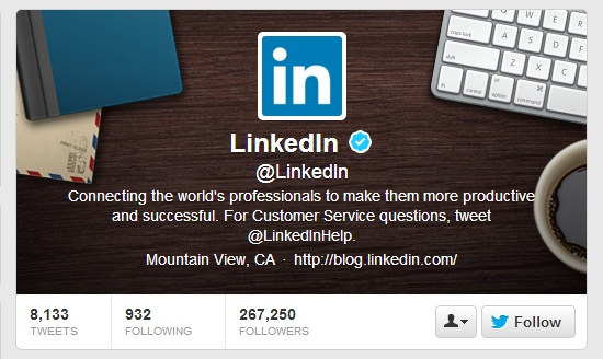 Increase your Twitter followers with LinkedIn