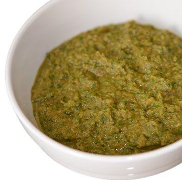 Chermoula marinade, Arabische marinade voor vlees of vis.