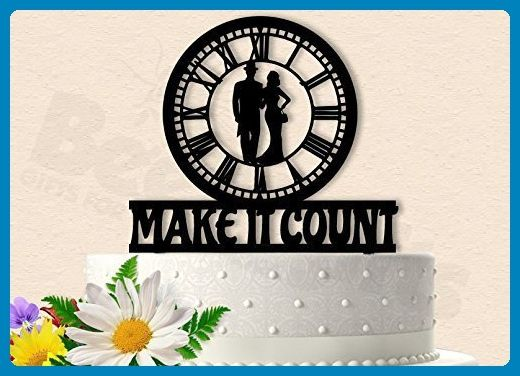 Make it Count Titanic Inspired Wedding Cake Topper - Venue and reception decor (*Amazon Partner-Link)