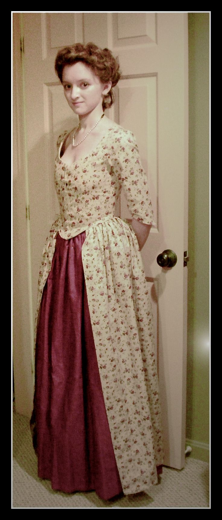 Christmas gown ideas 18th - Christmas Gown Progress By Indifferentcentury Deviantart Com On Deviantart 18th Centurycostume Ideascolonial