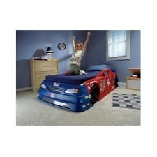race car bed kids furniture bedroom children convertible twin toddler play beds