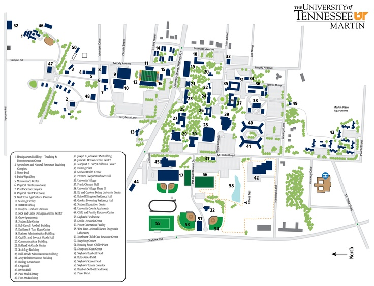 Tulane University Campus Map 44225 Loadtve