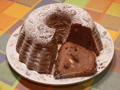 Picture of Recept - Hrušková bábovka