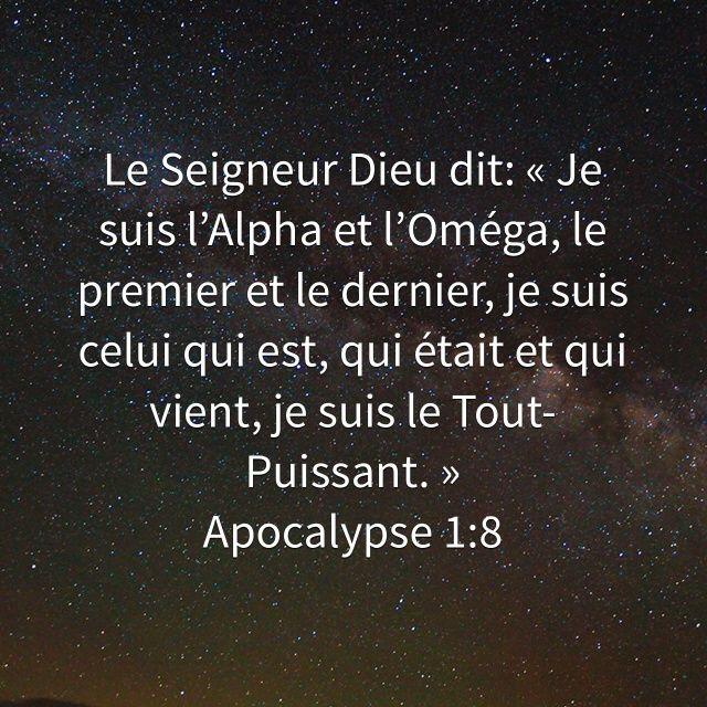 Françoise Longuemard a créé un verset illustré pour <b>Apocalypse 1:8</b>   Bible.com