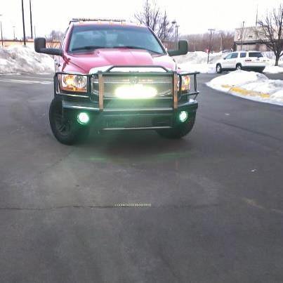Perfect  Heavy Duty Off Road LED Light Bar W Off Road LED Light