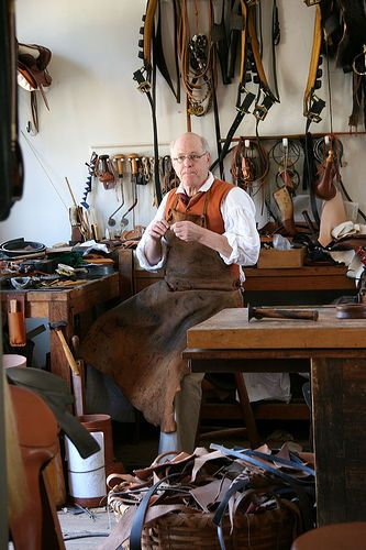 Colonial Tanner | Early American Trades and Crafts ...
