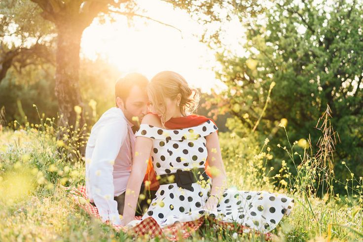 Vintage-Style Engagement Photoshoot - Wedding Photographer in Greece | Elias Kordelakos