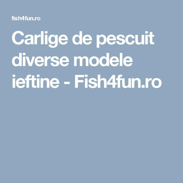 Carlige de pescuit diverse modele ieftine - Fish4fun.ro