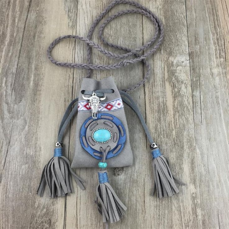 Long Ox Skull Necklace | New Arrivals 2017 | Native American Necklace