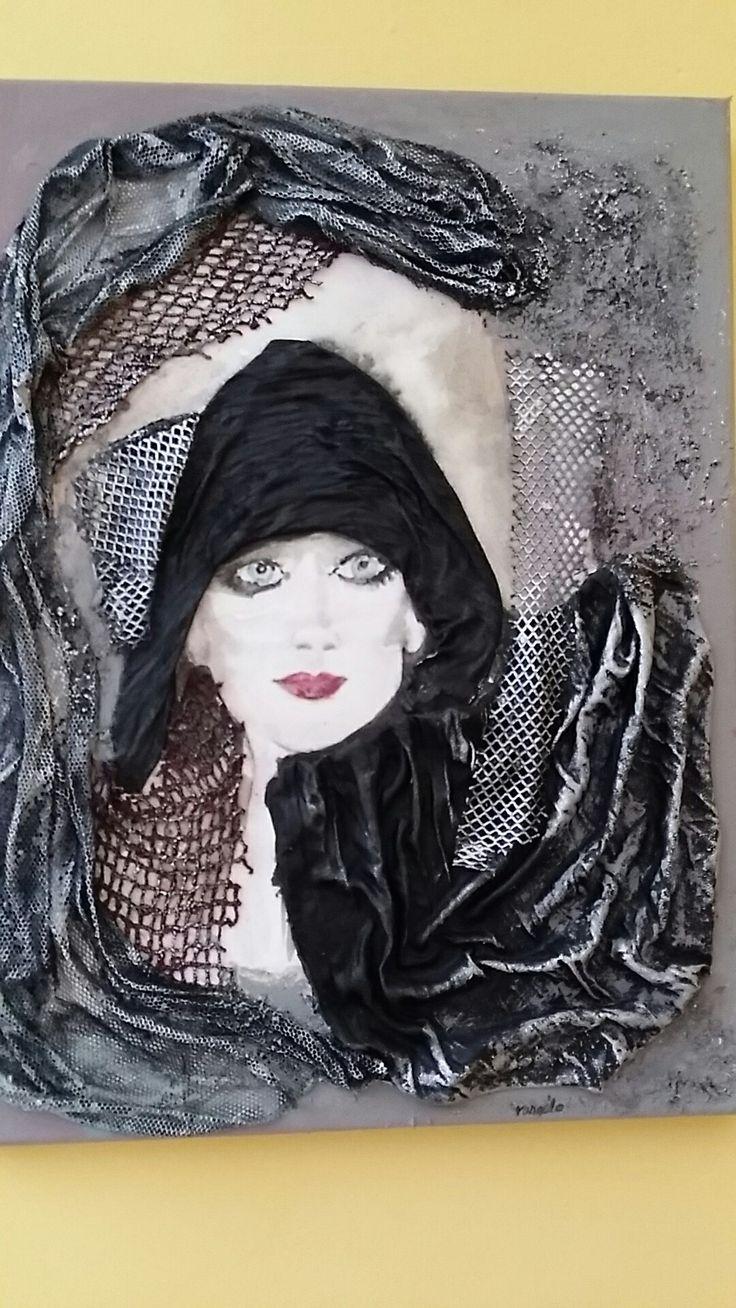 Paverpol-watercolor falikép