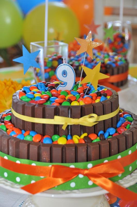 gâteau Smarties!!
