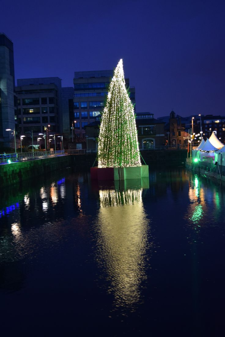 Christmas Tree at I Believe market in Dublin  © Sarah Murphy