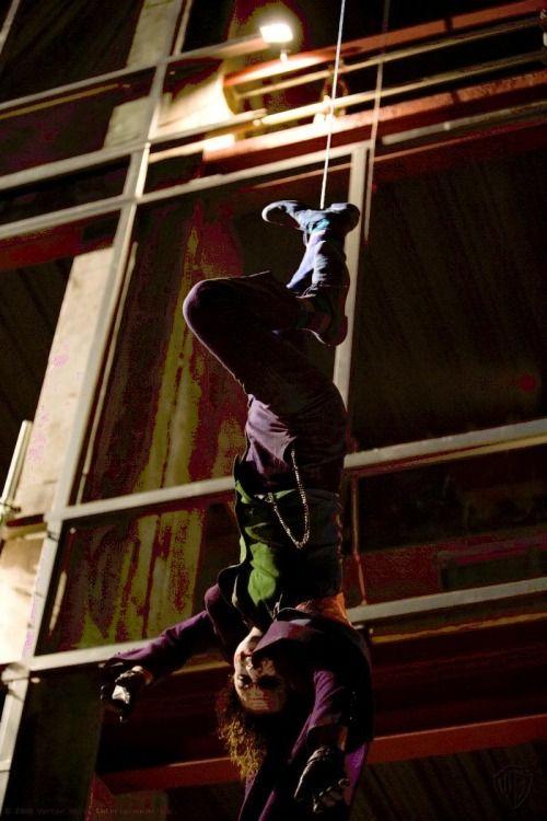 Heath Ledger on The Dark Knight (2008)