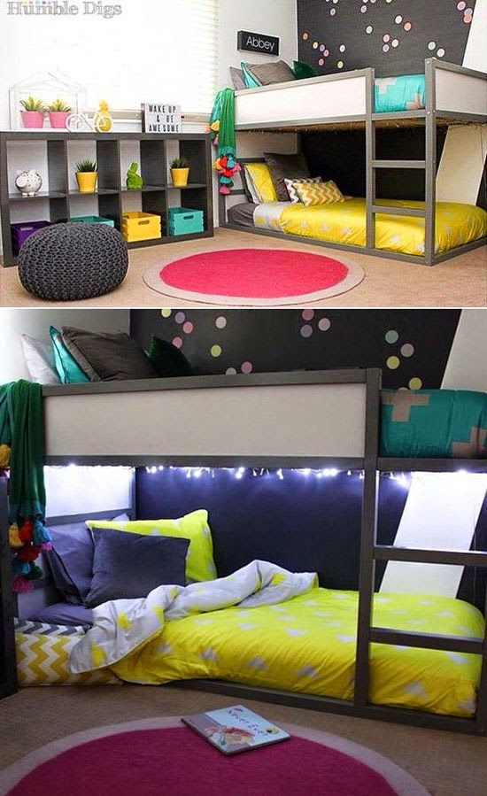 mommo design: IKEA HACKS FOR KIDS - Grey Kura                                                                                                                                                                                 More