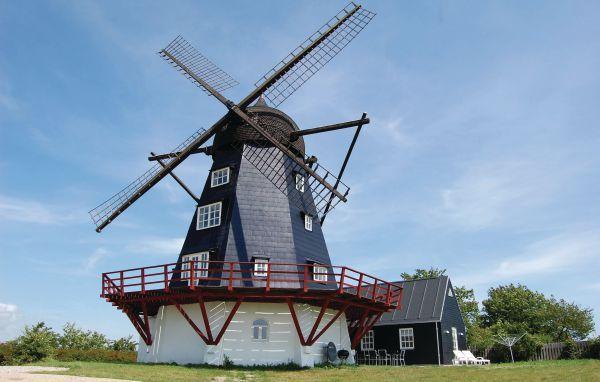 Vakantiehuis - Ebeltoft, Oost-Jutland - Denemarken. 10-persoon vakantiehuis in een molen uit 1850. Meer info: http://www.novasol.be/p/d02002