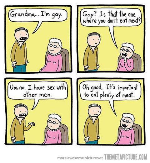 youre gay rainbow comic
