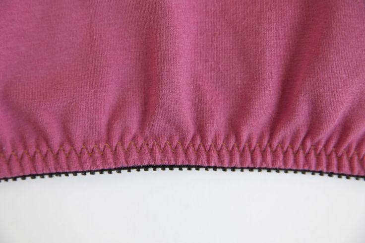 Lingerie elastic 3 ways on Colette