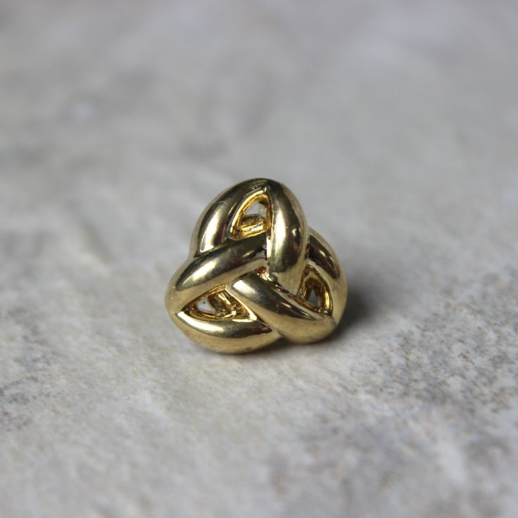 Mens Tie Tack Mens Tie Pin Mens Accessories Inexpensive Gifts for Him Trinity Knot Celtic Trinity Knot Tie Tack Celtic Knot Jewelry