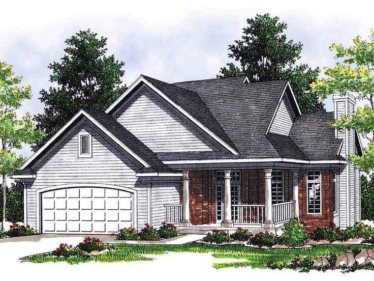 Eplans Cottage House Plan Cozy Bungalow