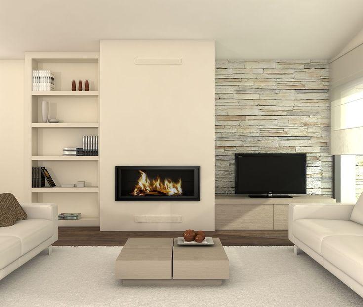 17 mejores ideas sobre chimeneas minimalistas en pinterest ...