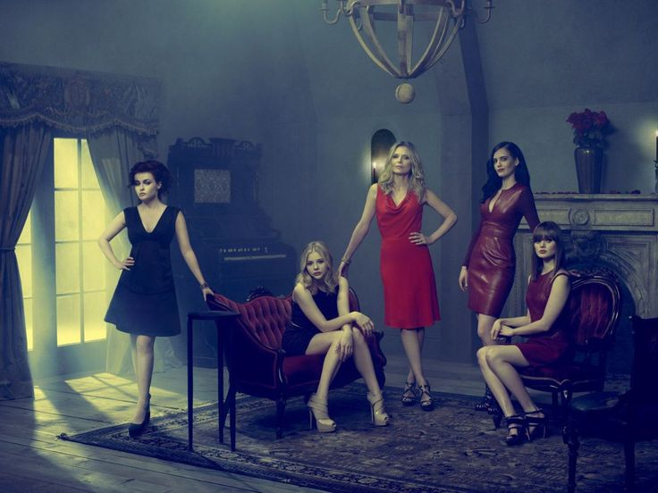 Helena Bonham Carter, Chloe Moretz, Michelle Pfeiffer, Eva Green and Bella Heathcote