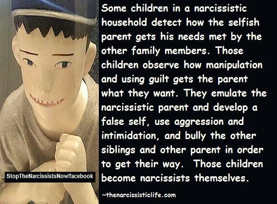 Narcissistic Children