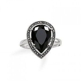 Thomas Sabo Thomas Sabo Glam and Soul Black Onyx Ring - Small Image