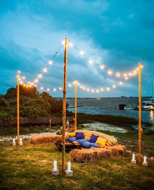 Would love this for an outdoor wedding for lounging and pictures