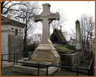 La tombe de Davout au cimetière du père Lachaise à Paris