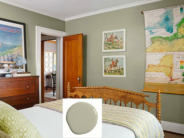 Master Bedroom Green Walls 1930 best paint and color inspirations images on pinterest