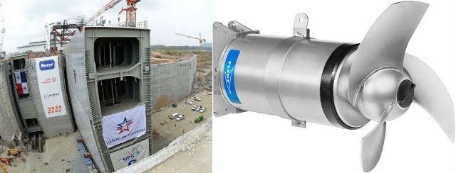 Panama Kanalı genişletme projesinde Flygt karıştırıcılar kullanıldı.