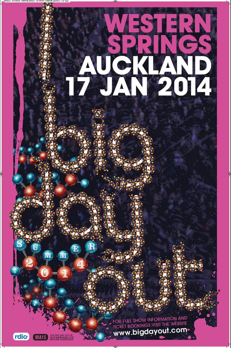 Win a double pass to Auckland's #BDO2014 #BigDayOut