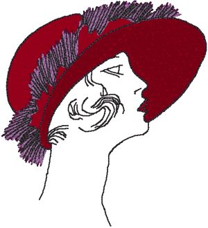 53 Best Flappers Embroidery Designs Images On Pinterest ...
