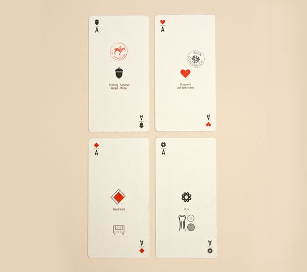 Vienna Playing Cards by Studio Formafantasma