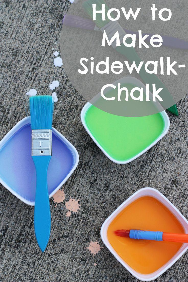 how to make sidewalk chalk paint sidewalk chalk paint daycare themes. Black Bedroom Furniture Sets. Home Design Ideas