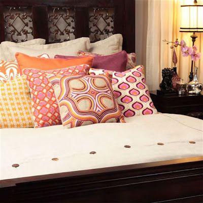 Orange and purple play space pinterest bedding - Orange and purple bedding ...