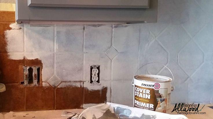 paint kitchen tile primer