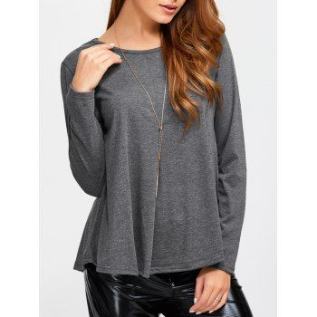 Long Sleeve T-shirts   Cheap Sexy Long Sleeve T-shirts For Women Casual Style Online Sale   DressLily.com Page 5