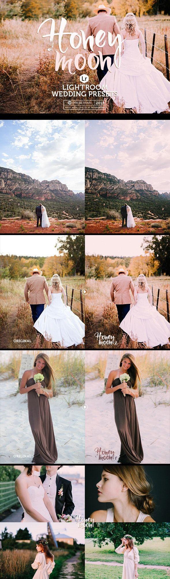 Honeymoon Wedding Lightroom Presets