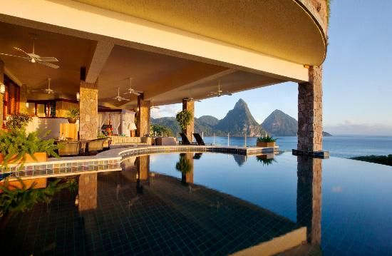 Jade Mountain Resort, St. Lucia - Definitely be making a trip here.