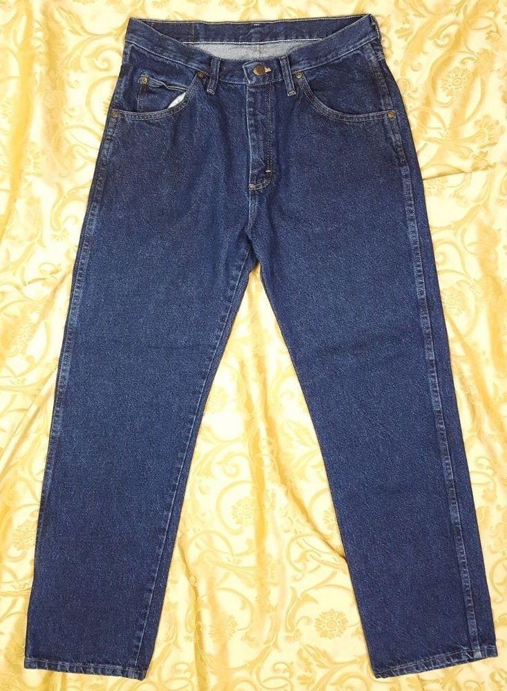 460ac239 Mens Jeans Size 32 x 30 Wrangler Hero Regular Fit, 96501MR Blue #Wrangler  #regularfit