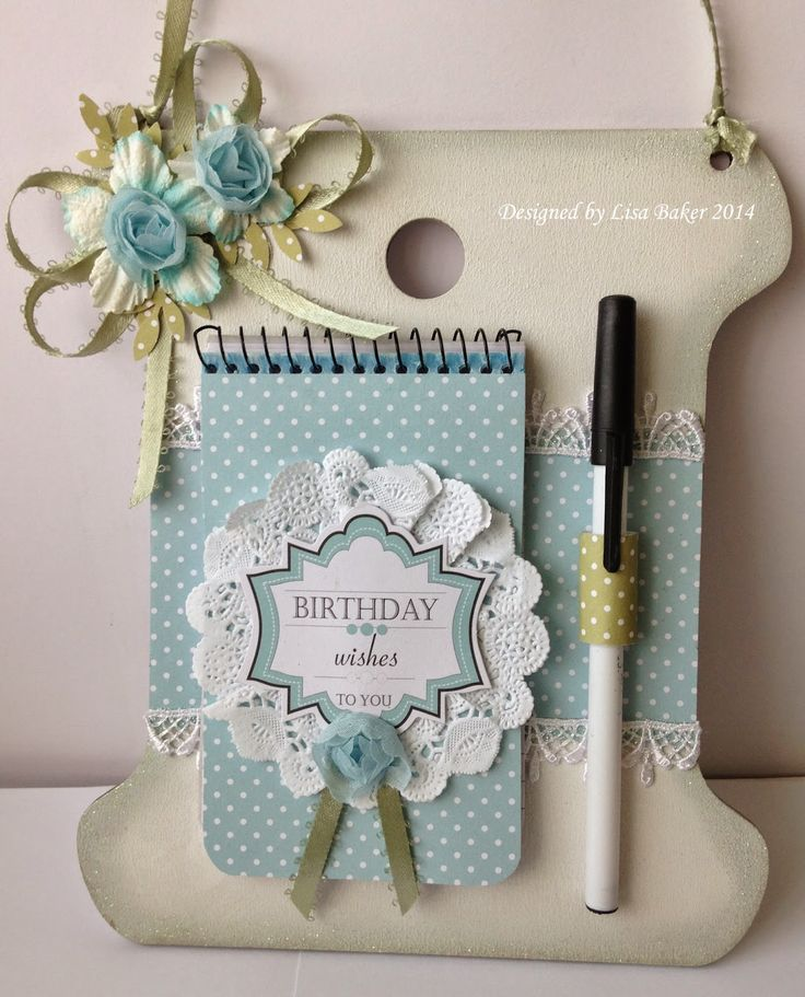 Anna Marie Designs home décor, patterned card, messages.