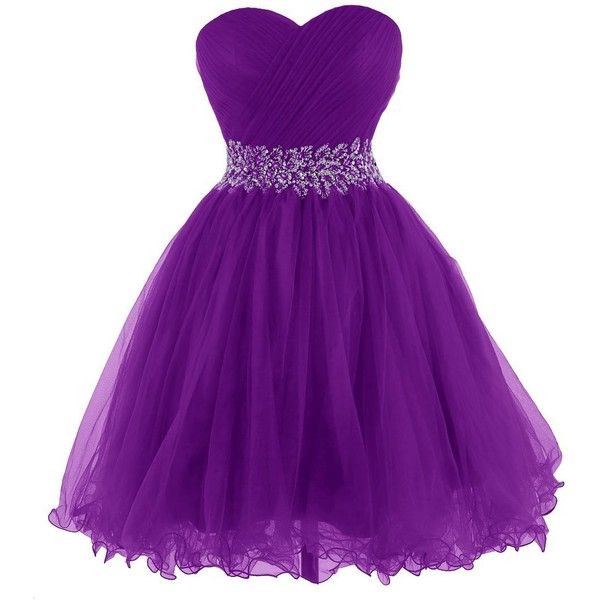 25  best ideas about Short purple dresses on Pinterest | Dress ...